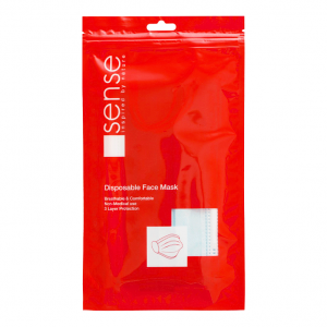 Adult hygienic civil masks - Sense, Set of 4 pcs