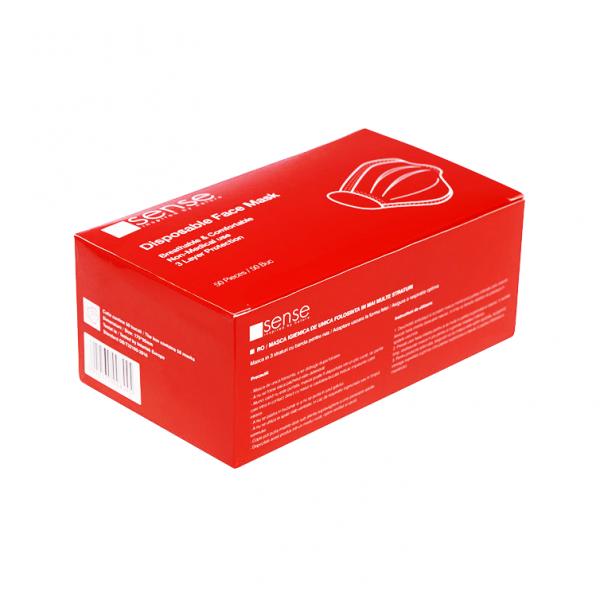 Adult hygienic civil masks - Sense, Set of 50 pcs