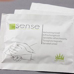 Invigorating wet napkin - Sense Hotel Accessories ambiance
