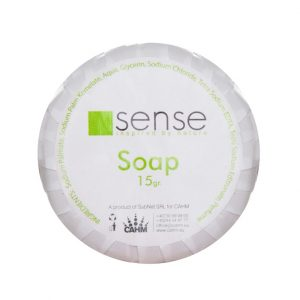White Soap 15 gr - Sense Hotel Cosmetics