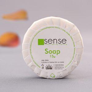 White Soap 15 gr - Sense Hotel Cosmetics ambiance