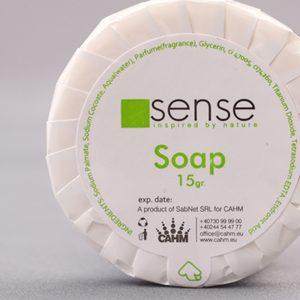 White Soap 15 gr - Sense Hotel Cosmetics detail