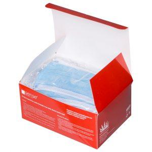 Children's hygienic civil masks - Sense Emergency, Set of 50 pcs