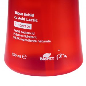 Saoun gel lichid cu acid lactic protector testat bactericid sense 330 ml