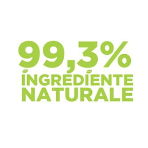 99,3% ingrediente naturale Sense Cosmetics